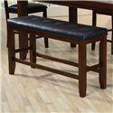 Crown Mark Bardstown Counter Height Bench - Item Number: 2752-BENCH