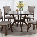 Crown Mark Barney Round Dining Table - Item Number: 2322T-48