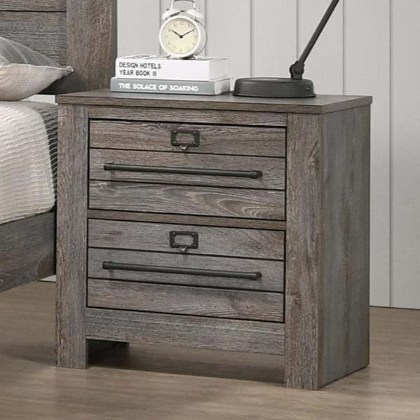 Bateson Nightstand by Crown Mark at Northeast Factory Direct