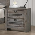 Crown Mark Bateson Nightstand - Item Number: B6960-2