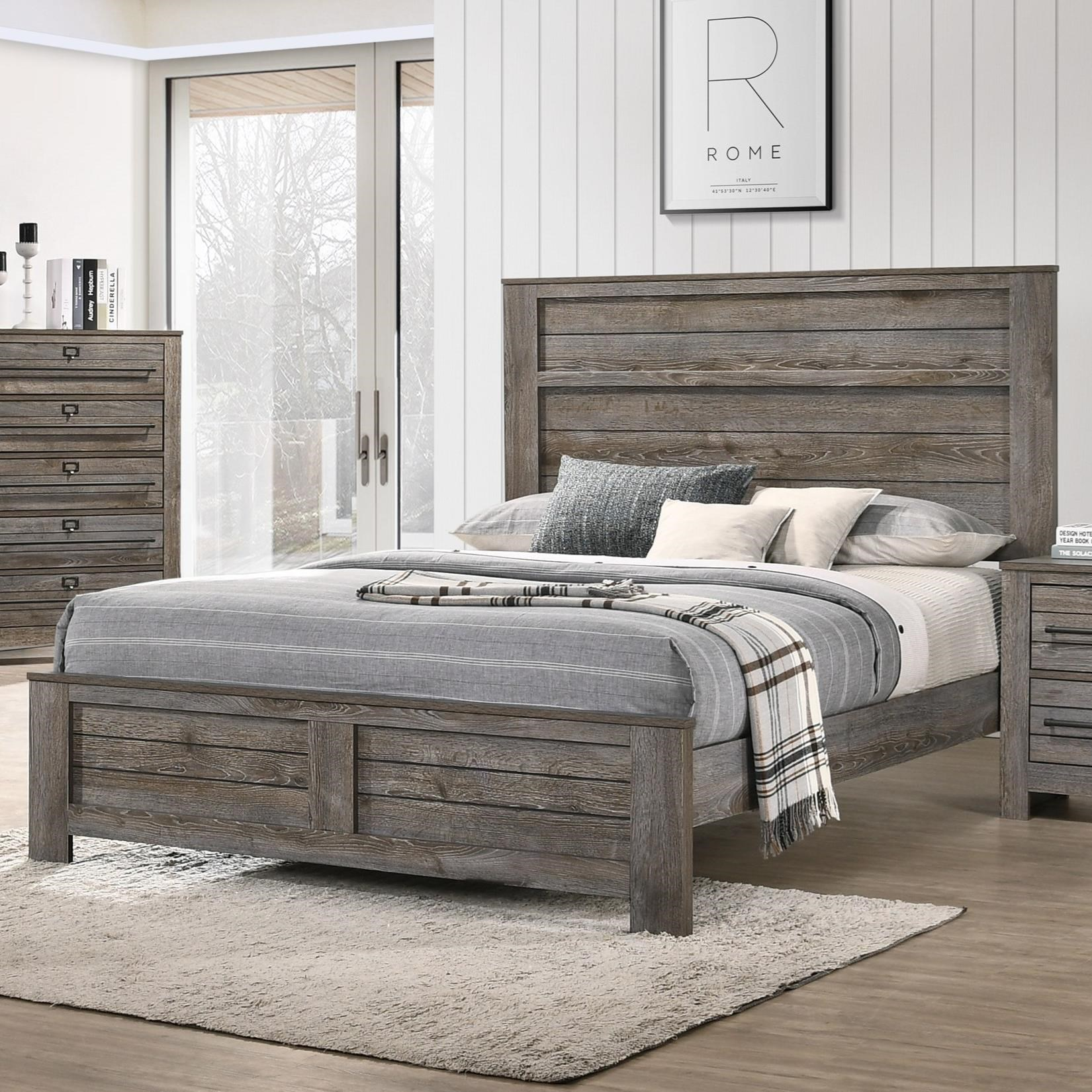 Bateson Queen Bed by Crown Mark at Northeast Factory Direct