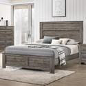 Crown Mark Bateson California King Bed - Item Number: B6960-K-HBFB+CK-RAIL