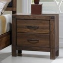 Crown Mark Belmont Nightstand - Item Number: B3100-2