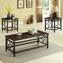 Crown Mark Benjamin Accent Accent Table Group - Item Number: 4021SET