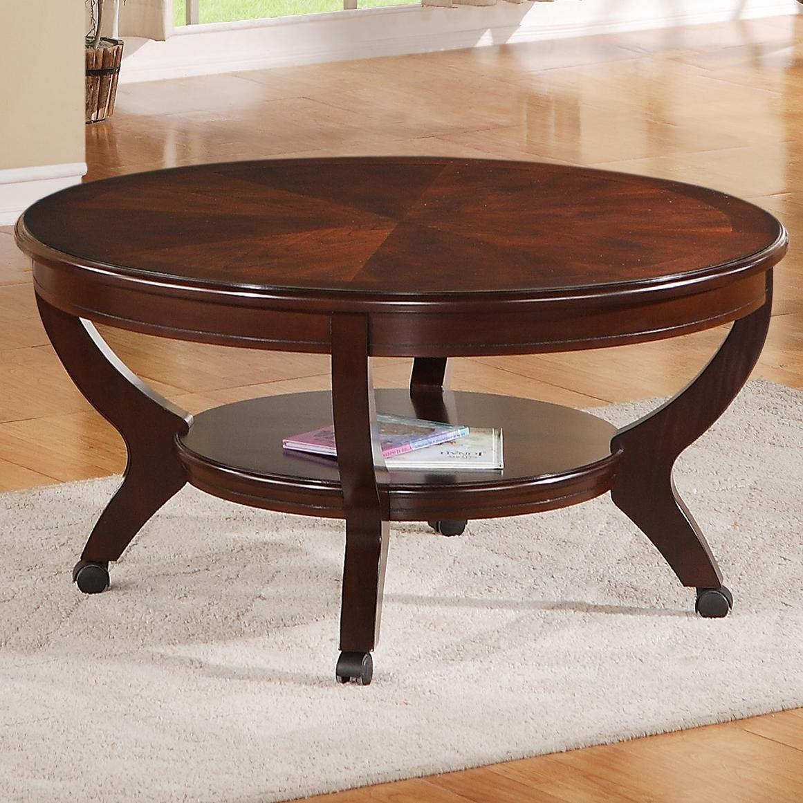 Crown Mark Brownstown Cocktail Coffee Table - Item Number: 4517-01