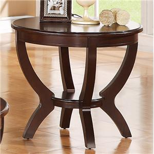 Crown Mark Brownstown Cocktail End Table
