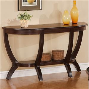 Crown Mark Brownstown Cocktail Sofa Table
