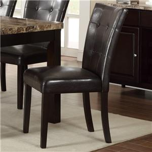 Crown Mark Bruce Upholstered Side Chair