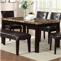 Crown Mark Bruce Dining Table - Item Number: 2267T-3864