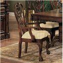 Crown Mark Brussels Dining Arm Chair - Item Number: 2470A