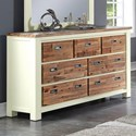 Crown Mark Buckley Dresser - Item Number: B1200-1
