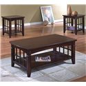Crown Mark Camino 3 Pack Cocktail Table Set - Item Number: 4155SET