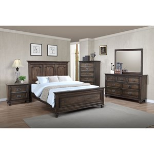 Crown Mark Campbell King Bedroom Group