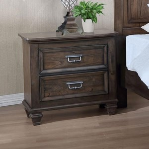 Crown Mark Campbell Nightstand