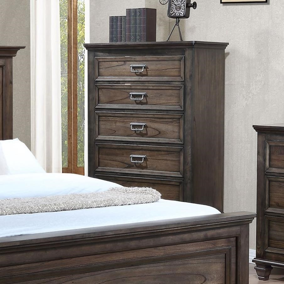 Crown Mark Campbell Chest of Drawers - Item Number: B8250-4