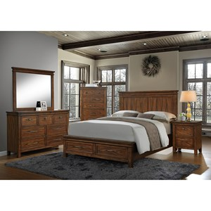Crown Mark Cassidy King Bedroom Group