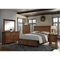 Crown Mark Cassidy Queen Bedroom Group - Item Number: B6400 Q Bedroom Group 1
