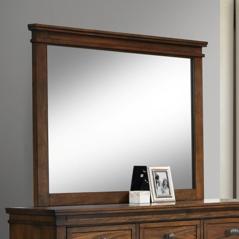 Crown Mark Cassidy Dresser Mirror - Item Number: B6400-11