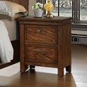 Crown Mark Cassidy Nightstand - Item Number: B6400-2