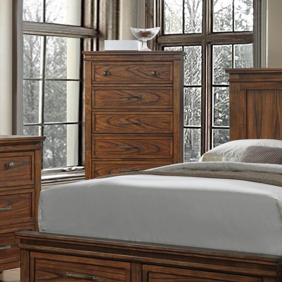 Crown Mark Cassidy Chest of Drawers - Item Number: B6400-4