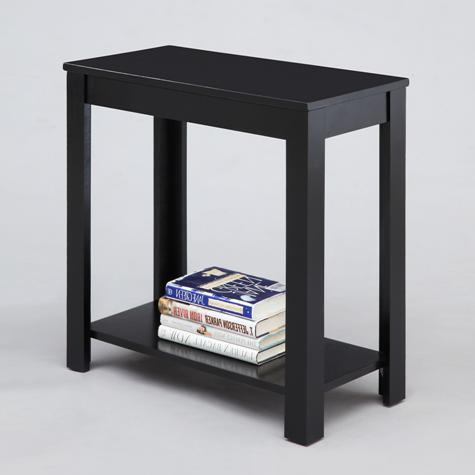 Crown Mark Chairside Tables Chairside Table - Item Number: 7710-BK