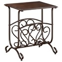 Crown Mark Chairside Tables Glenwood Chairside Table - Item Number: 7913