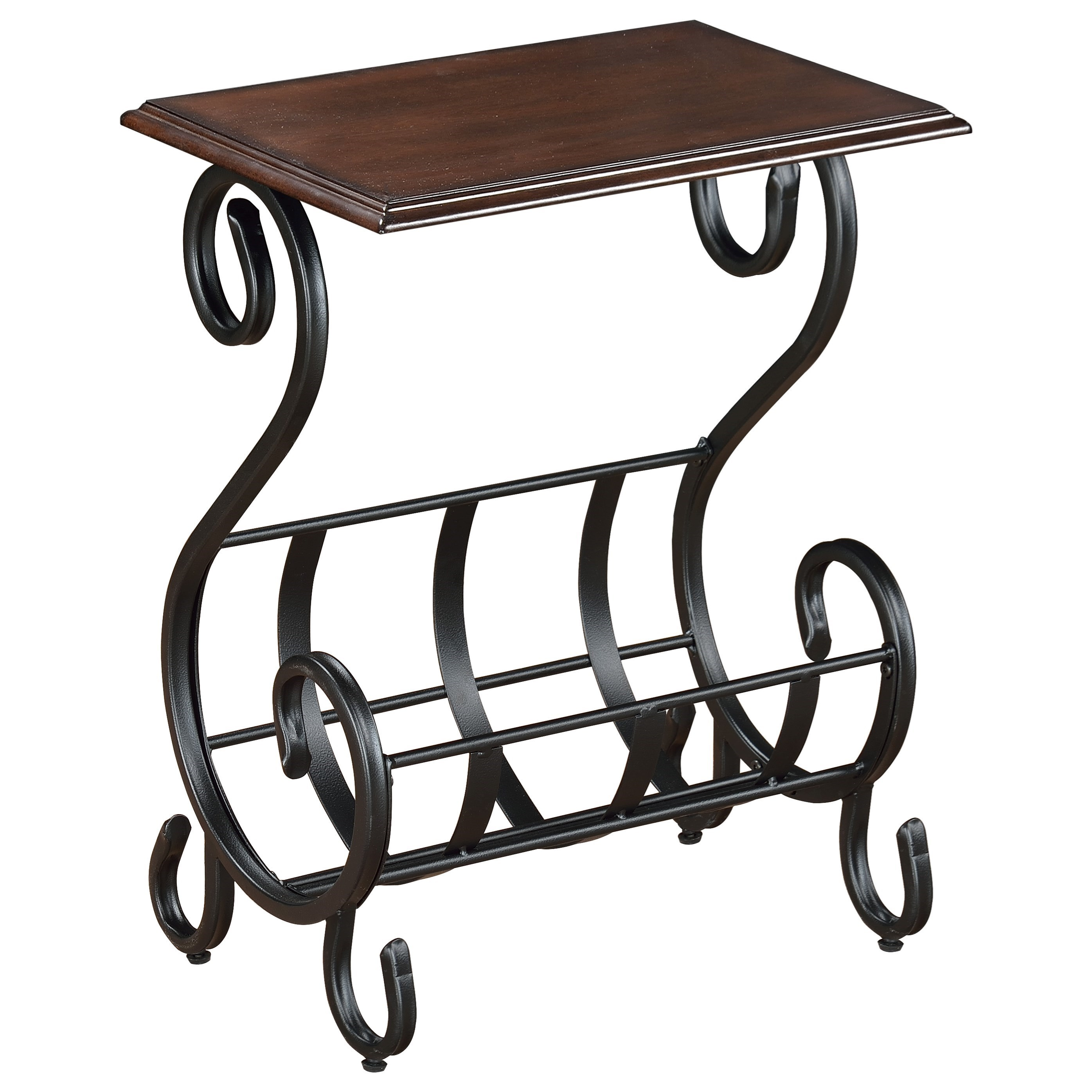Crown Mark Chairside Tables Willa Chairside Table - Item Number: 7914