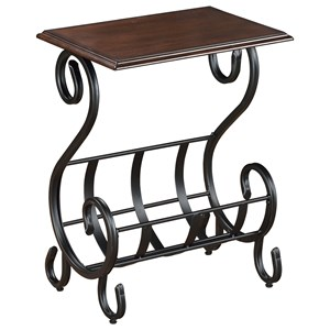 Crown Mark Chairside Tables Willa Chairside Table