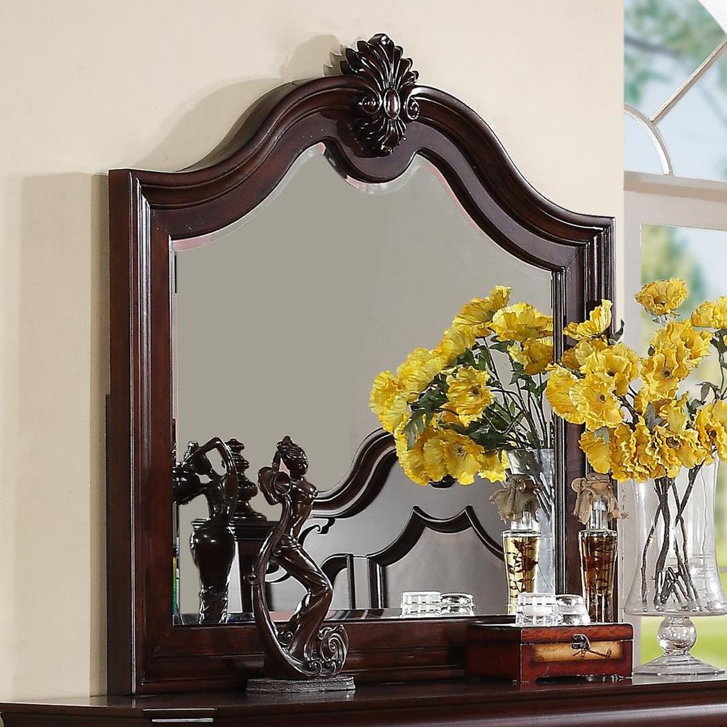 Crown Mark Charlotte Mirror - Item Number: B8300-11