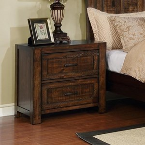 Crown Mark Christian Nightstand