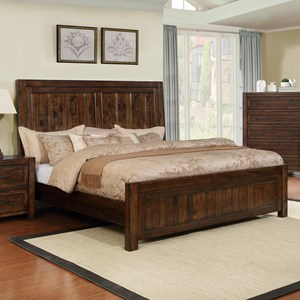 Crown Mark Christian Queen Bed