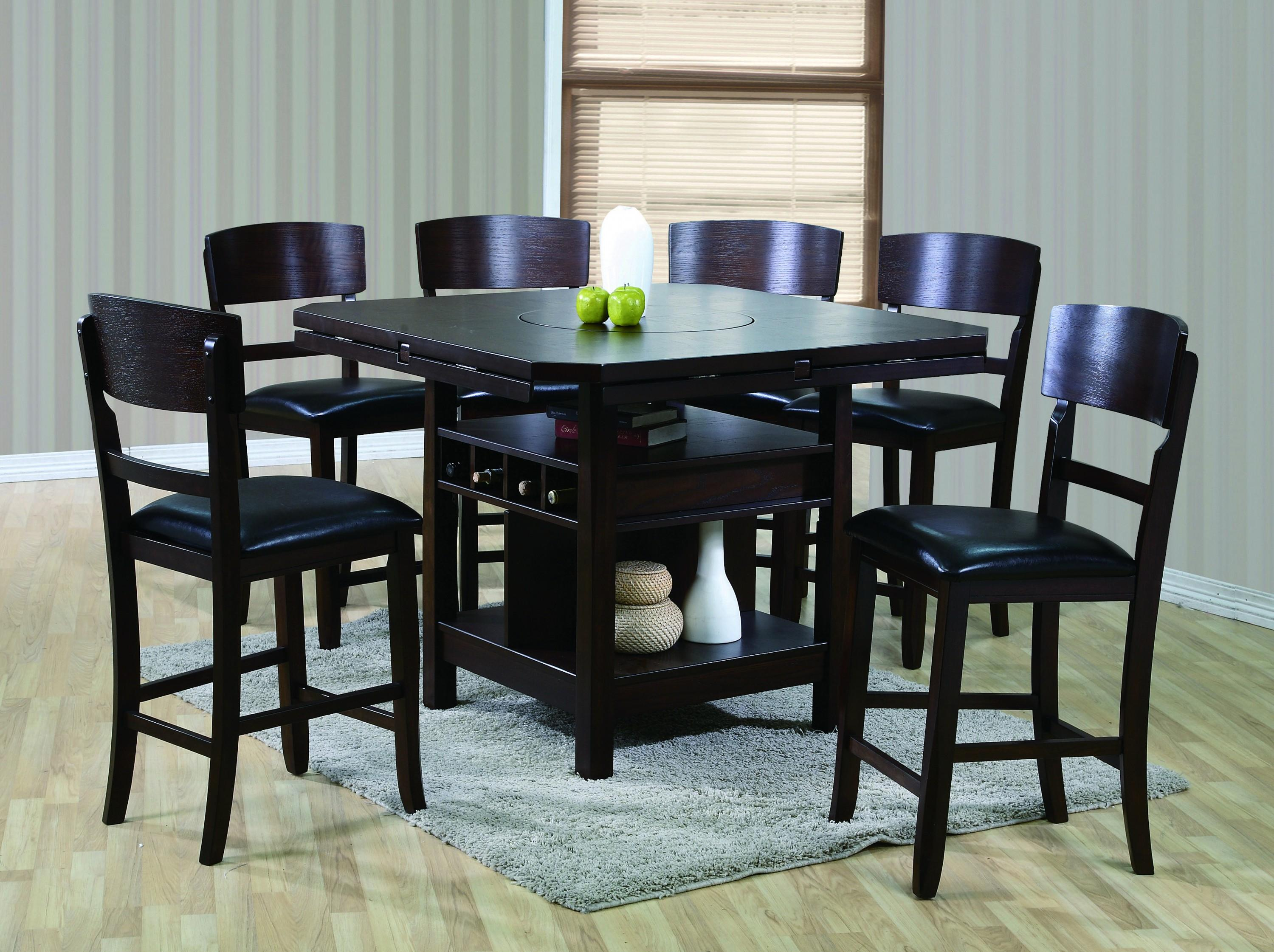 Crown Mark Conner 7 Piece Table And Chair Set   Item Number: 2849T 6060