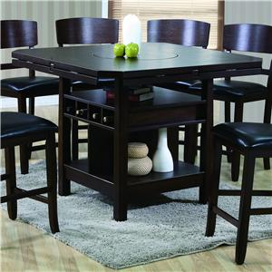 Crown Mark Conner Counter Height Table