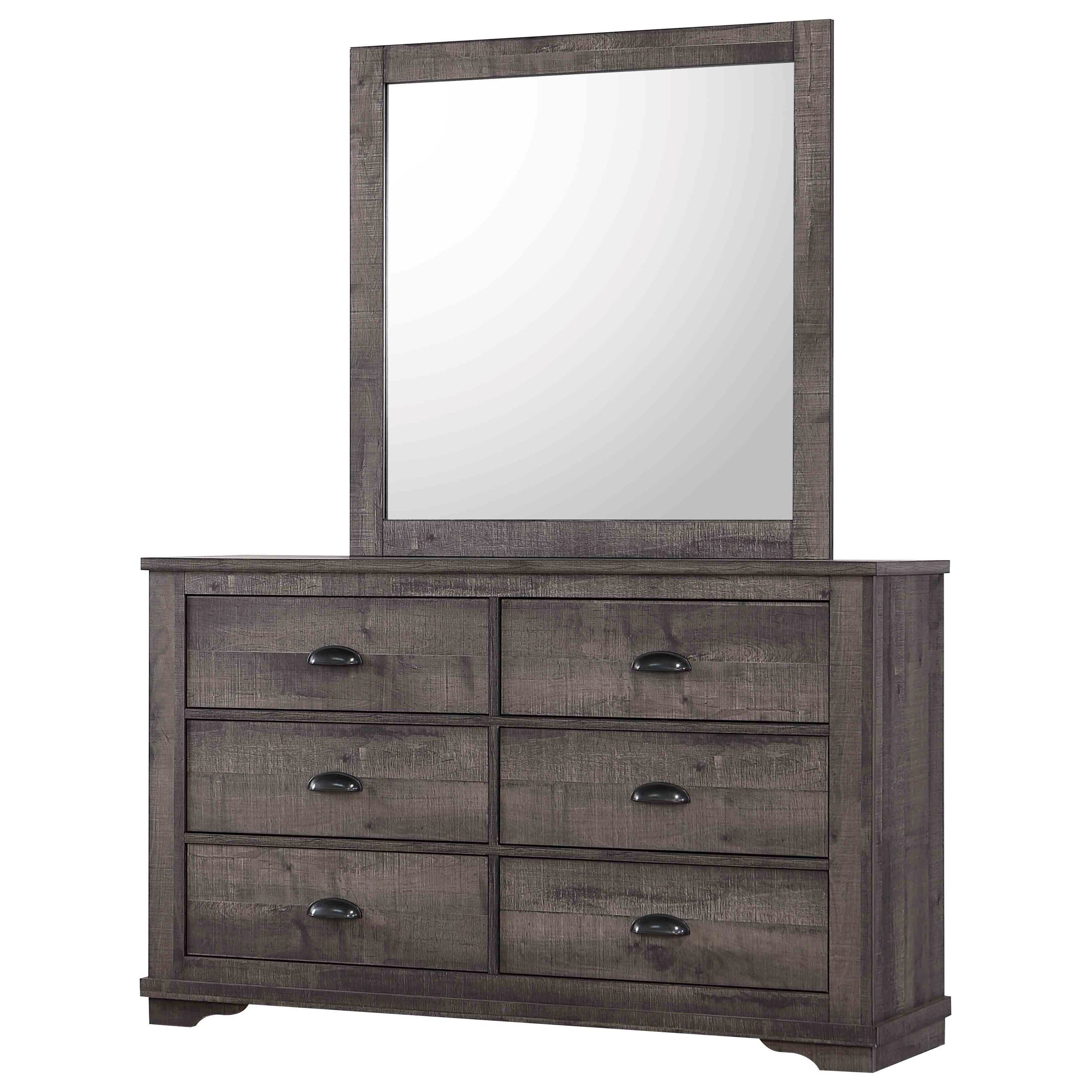 Coralee Dresser and Mirror by Crown Mark at Northeast Factory Direct