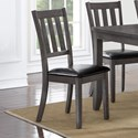 Crown Mark Cosgrove Dining Side Chair - Item Number: 2361S-GY