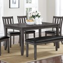 Crown Mark Cosgrove Dining Table - Item Number: 2361T-3660-GY