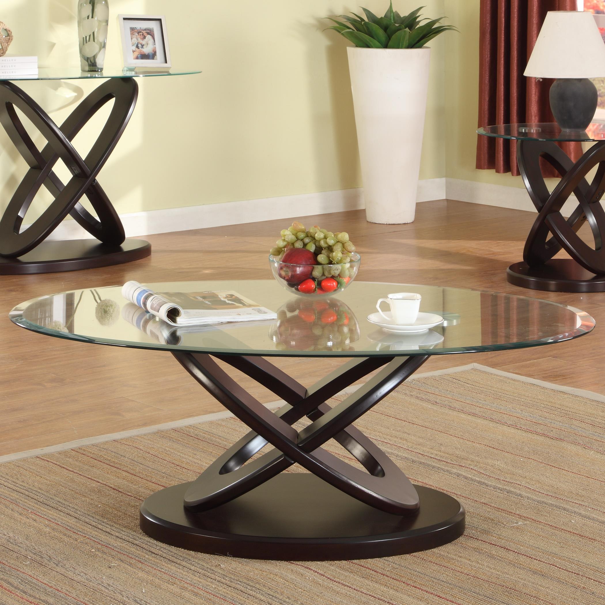 Crown Mark Cyclone Coffee Table - Item Number: 4235-01