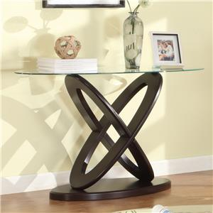 Crown Mark Cyclone Sofa Table
