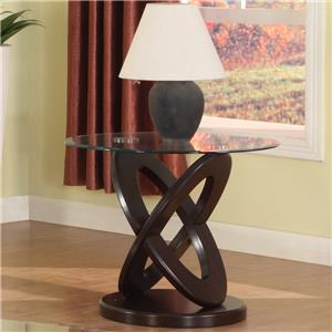 Crown Mark Cyclone End Table