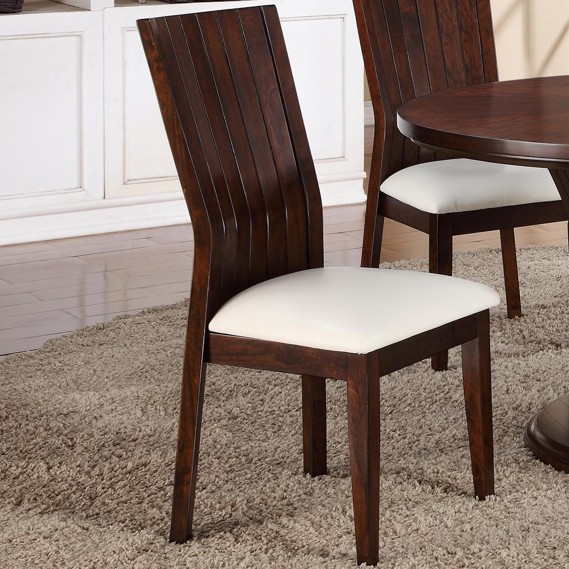 Crown Mark Daria Daria Side Chair - Item Number: 2234S-WH