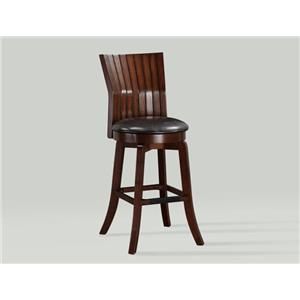 Crown Mark Daria Swivel Bar Stool
