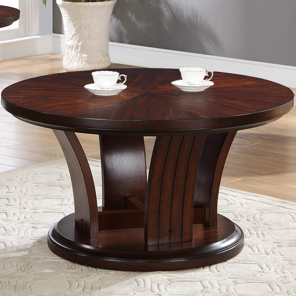 Crown Mark Daria Coffee Table with Caster - Item Number: 4234-01