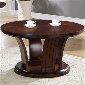 Crown Mark Daria Coffee Table with Caster