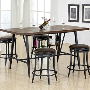 Crown Mark David Counter Height Table