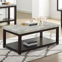 Crown Mark Deacon Coffee Table w/ Casters - Item Number: 4276-01