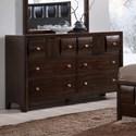 Crown Mark Delrey Dresser - Item Number: B6800-1