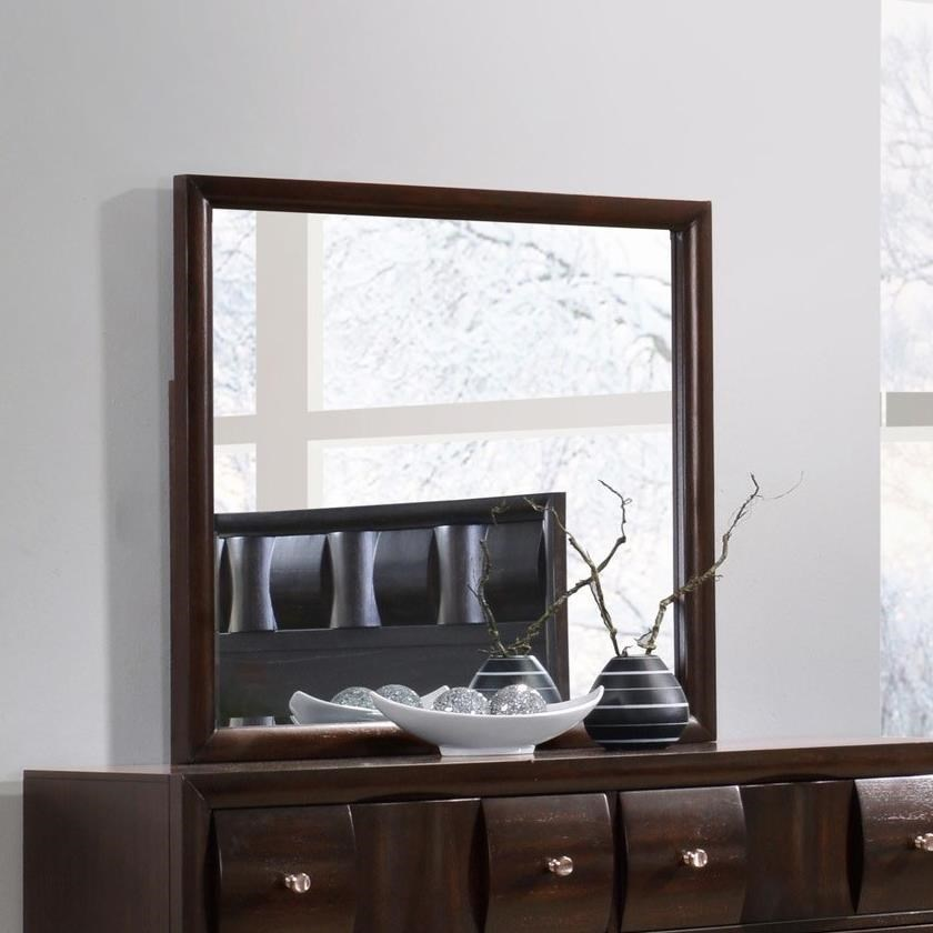Crown Mark Delrey Dresser Mirror - Item Number: B6800-11