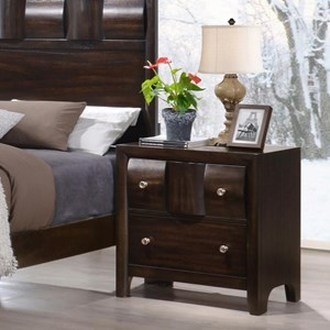 Crown Mark Delrey Nightstand