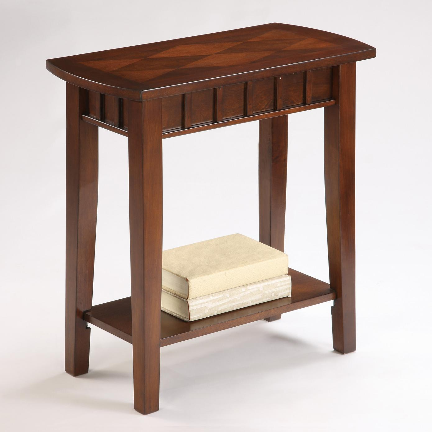 Crown Mark Dentil Chairside Table - Item Number: 7203