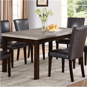 Crown Mark Dominic Dining Table